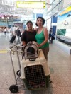 Lolita in partenza verso Roma