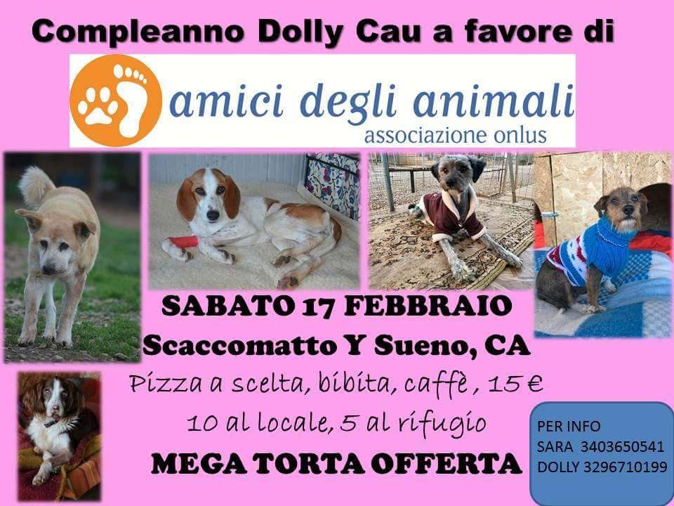 Compleanno Dolly Cau per Amici Degli Animali 2018